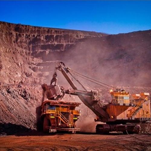 Bergbau und Steinbrüche